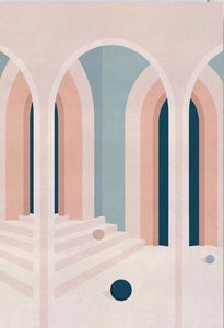 WRAP - card Charlotte Taylor Artwork Pastel Arches