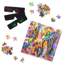 Load image into Gallery viewer, Carnovsky Jungle RGB layered jigsaw puzzle 500pc