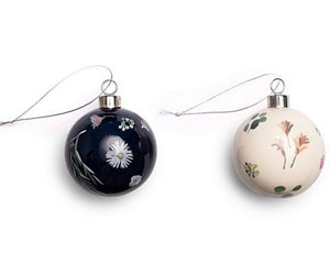Milligram - Xmas Ceramic Bauble 4pk