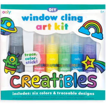 OOLY - Window Cling Art Kit