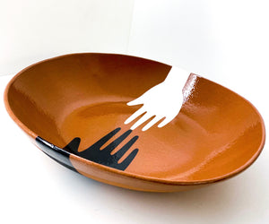 Sharon Muir - Serving Bowl Mano Pattern