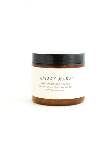 Apiary Made Honey - Citrus Sea Salt Body Scrub