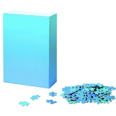 Areaware - Gradient Puzzle Small Blue