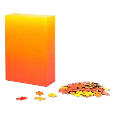 Areaware - Gradient Puzzle Small Red