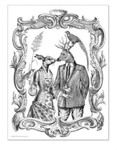 Load image into Gallery viewer, Alibabette Editions - Engraving to colour, Romance