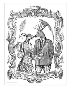 Alibabette Editions - Engraving to colour, Romance