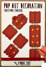 Load image into Gallery viewer, POP OUT CARD COMPANY -  Xmas Cracker hanging