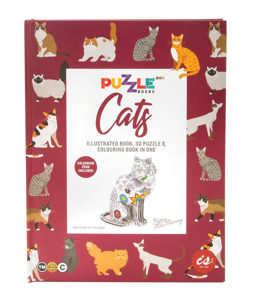 IS GIFT - Puzzle Book CATS