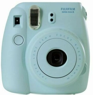 Fujifilm - Instax Mini 8 Camera Blue Bundle