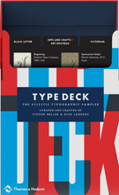 Load image into Gallery viewer, Type Deck: 54 iconic typefaces