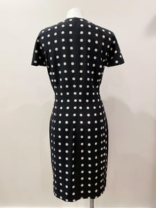 Vintage Escada Polka Dot Dress