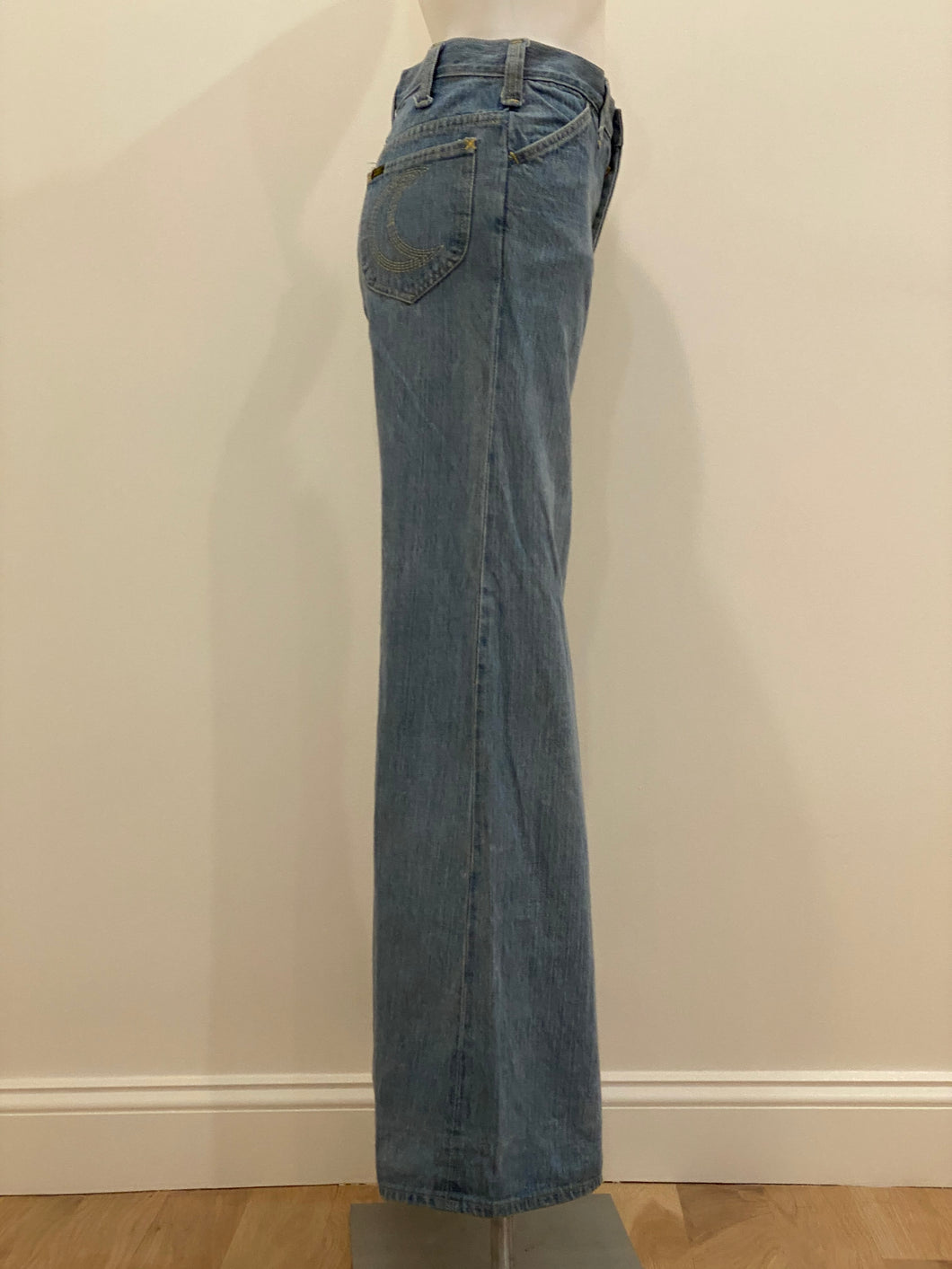 Wide Leg Lee Dungarees, 1970's