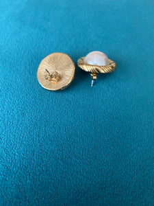 Oversized Pearl Earrings