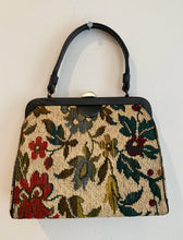 Load image into Gallery viewer, Floral Top Handle Bag