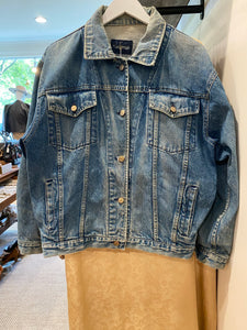 Distressed Denim Jacket, 1990s