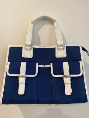 Blue Talbots Tote