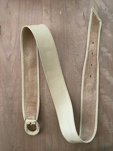 1980's Dior soft leather leather belt