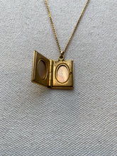 Load image into Gallery viewer, Stetson 12k Gold Filled Book Locket