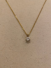 Load image into Gallery viewer, Diamond drop necklace, 1990's
