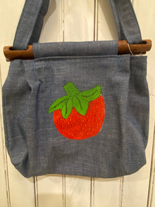 Strawberry Tote, 1960's