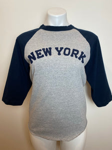 New York Baseball tee, 1990's