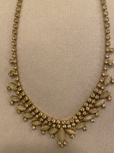 Load image into Gallery viewer, Sparkly drop necklace, 1950's