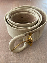 Load image into Gallery viewer, 1980's Dior soft leather leather belt