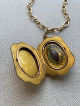 Load image into Gallery viewer, Antique Locket with purple stone, 1920's