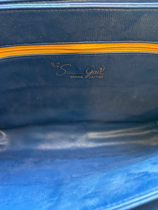 Navy Blue Messenger Shoulder Bag