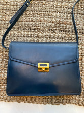 Load image into Gallery viewer, Navy Blue Messenger Shoulder Bag