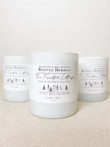 Frosted Cottage Candle