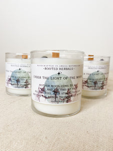 Under the Light of the Moon Candle