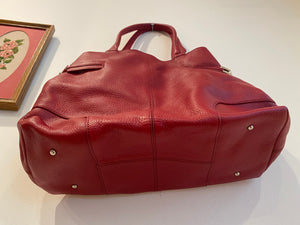Red Talbots Tote