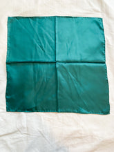 Load image into Gallery viewer, Emerald Green Head Scarf, 1980's