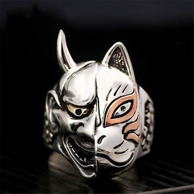 Hannya Fox Ring