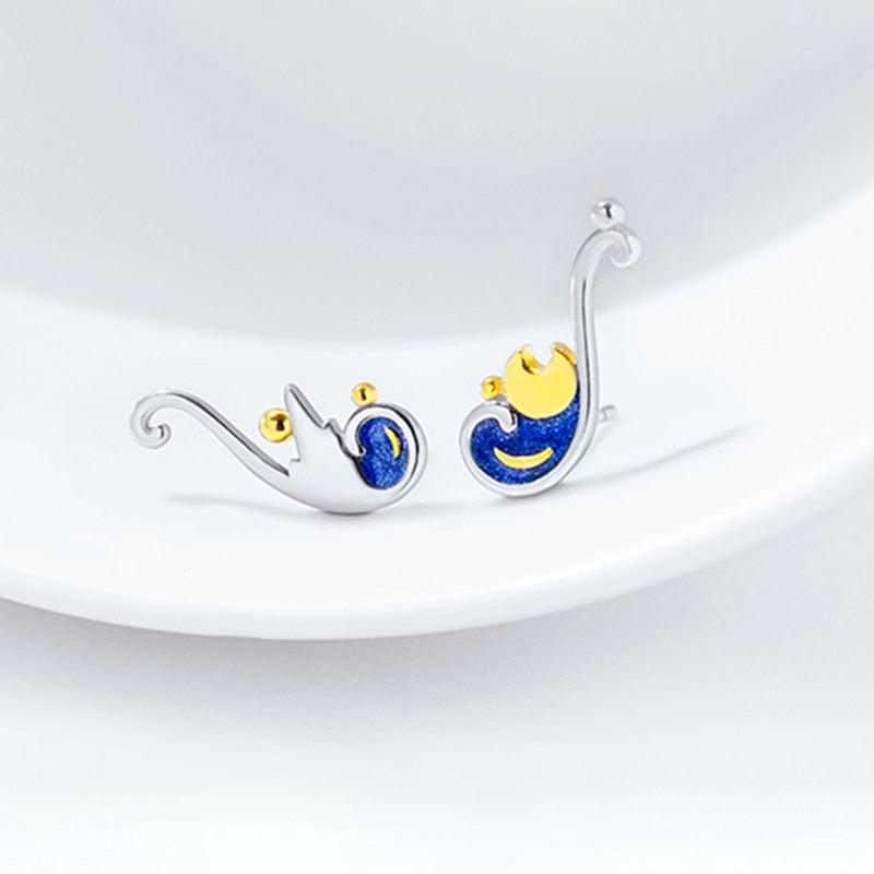 Van Gogh Starry Night Earrings