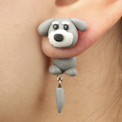 Polymer Clay Animal Earrings