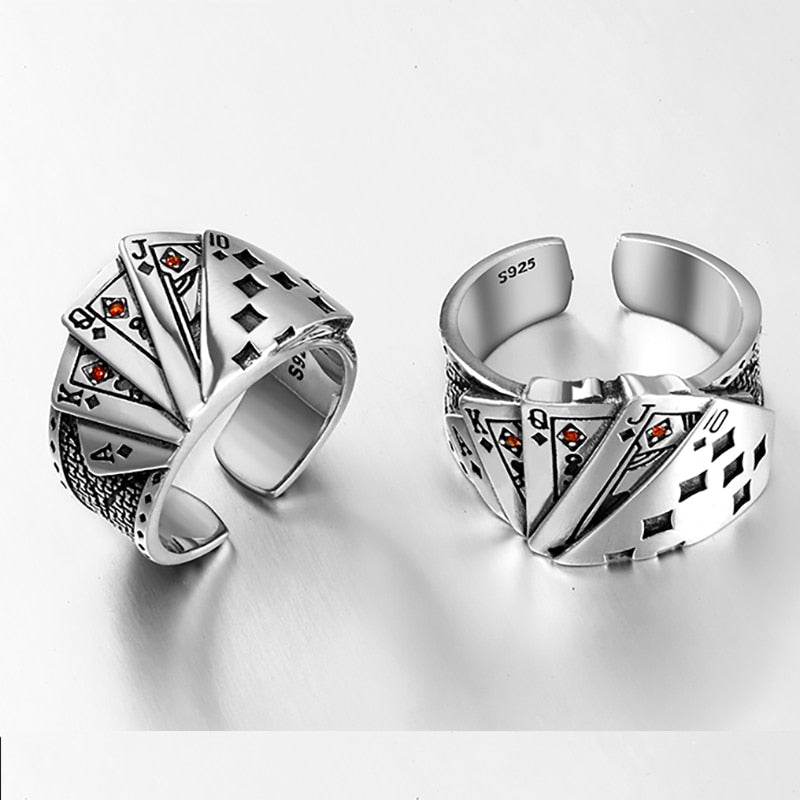 Straight Flush Ring