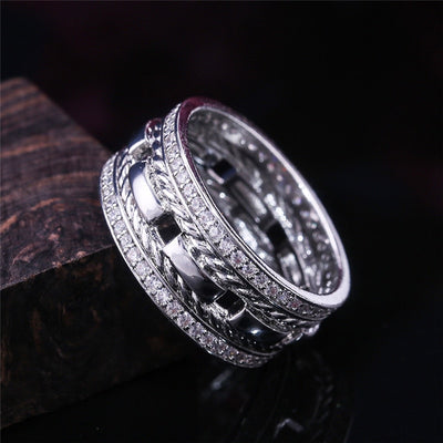 Quebec Double Layer Ring