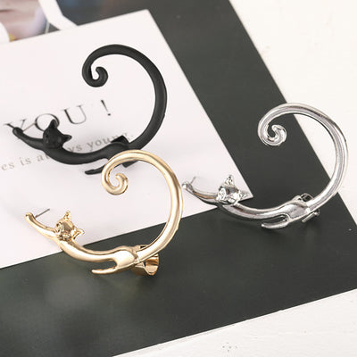 Cat Hook Earring