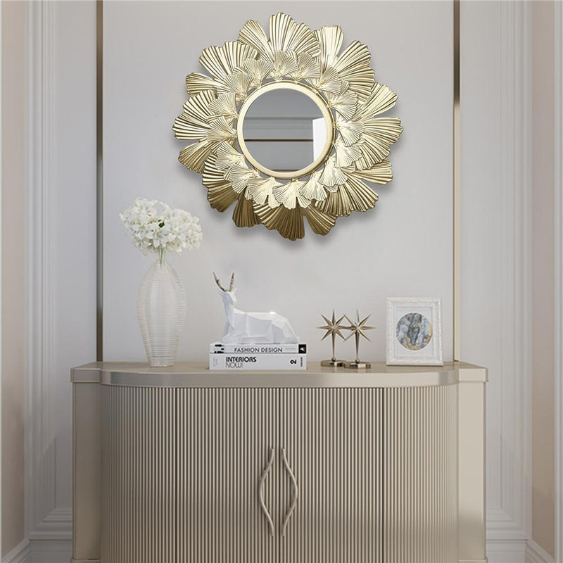 Leaf Bladed Decorative Mirror