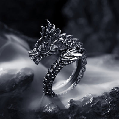 Untamed Dragon Ring