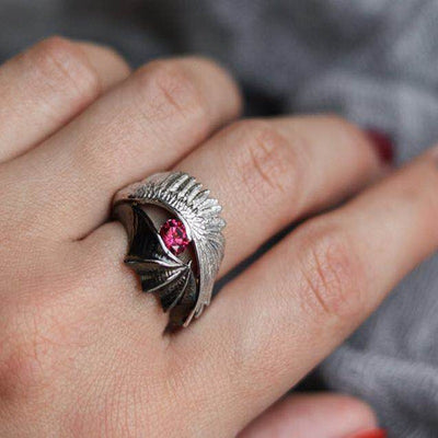 Light and Darkness Ring