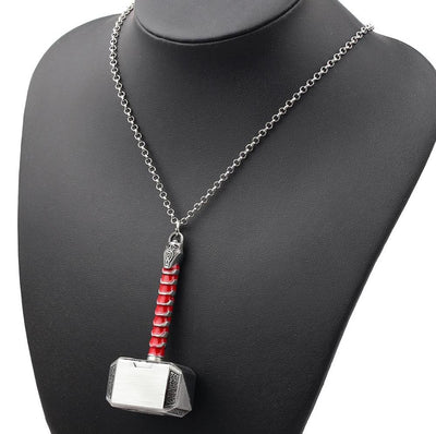 Mjolnir Chain Necklace