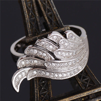 Sylvia Feather Ring