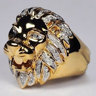 Lion's Jewel Ring
