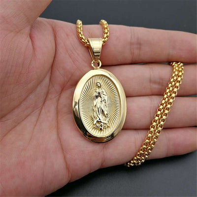 Virgin Mary Pendant