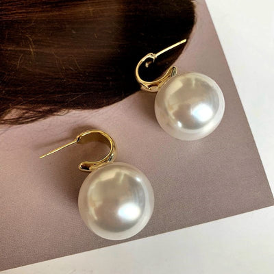Colossal Pearl Earrings
