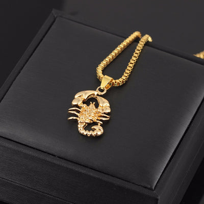 Scorpion Chain Pendant
