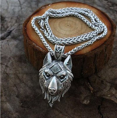 Norse Wolf Pendant